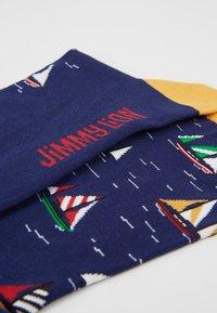 Jimmy Lion - SAILBOAT RACING - Socks - dark blue - 2