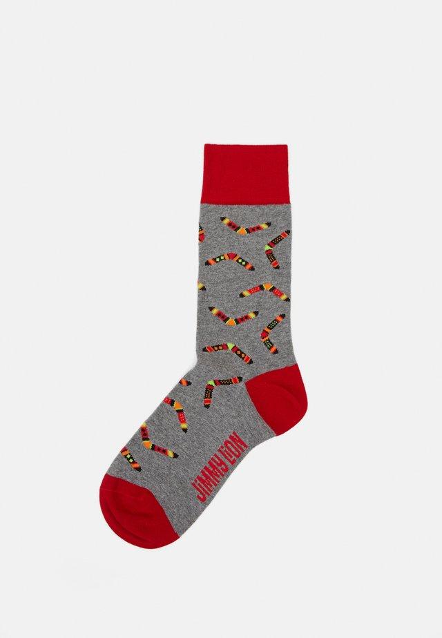 BOOMERANG UNISEX - Socks - grey