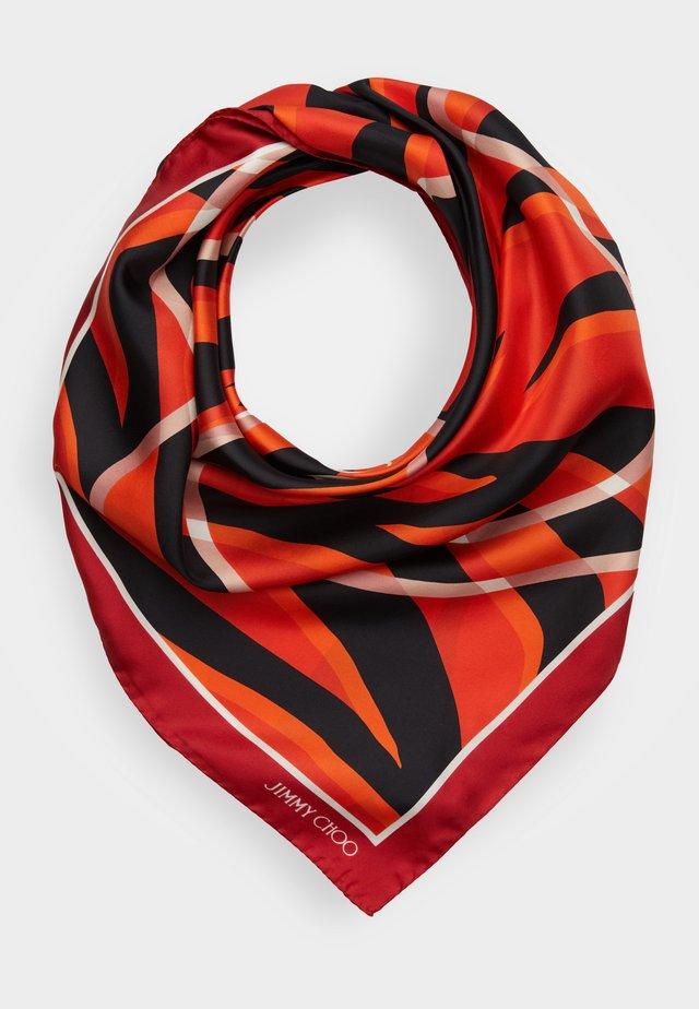 Foulard - mandarin red