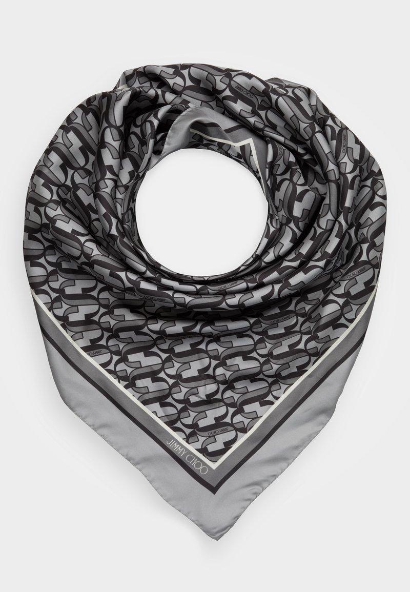 Jimmy Choo - Foulard - silver/black