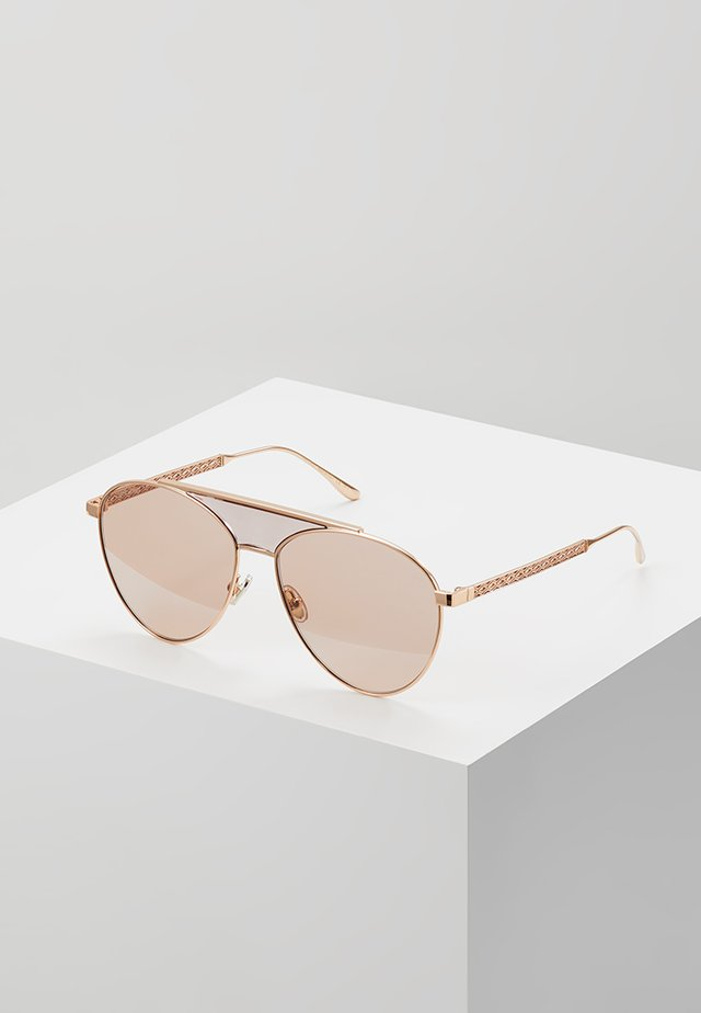 AVE - Lunettes de soleil - gold-coloured/nude