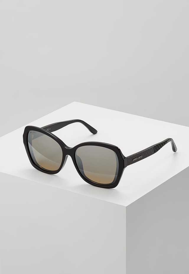 JODY - Sunglasses - black/brown
