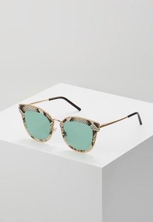 NILE - Sluneční brýle - gold-coloured/brown