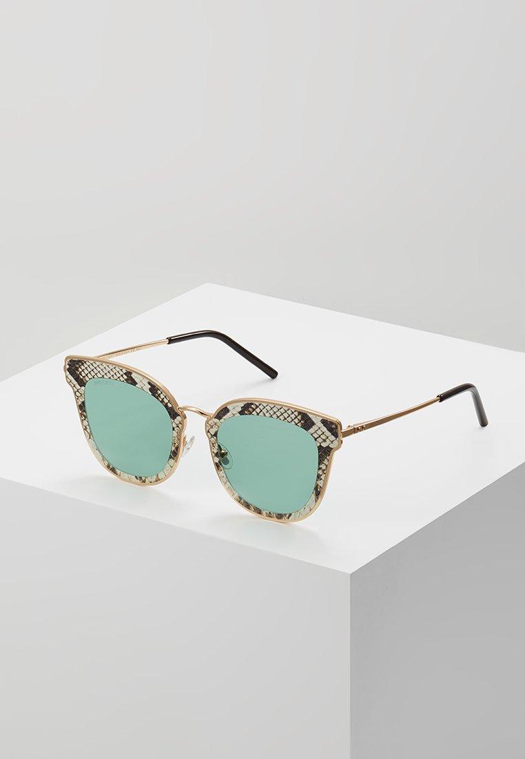 Jimmy Choo - NILE - Sunglasses - gold-coloured/brown