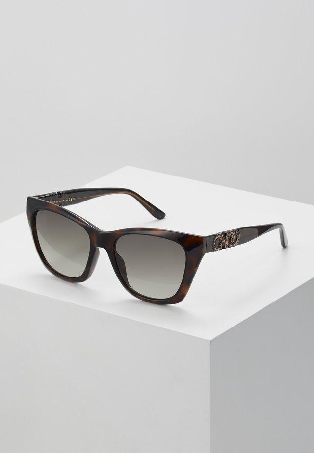RIKKI - Sluneční brýle - dark havana