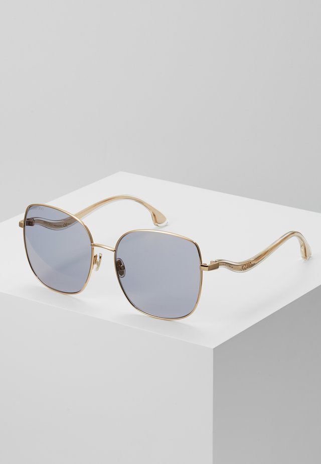 MAMIE - Sunglasses - gold-coloured/lilac