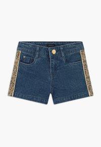 IKKS - BERMUDA - Short en jean - stone blue - 0