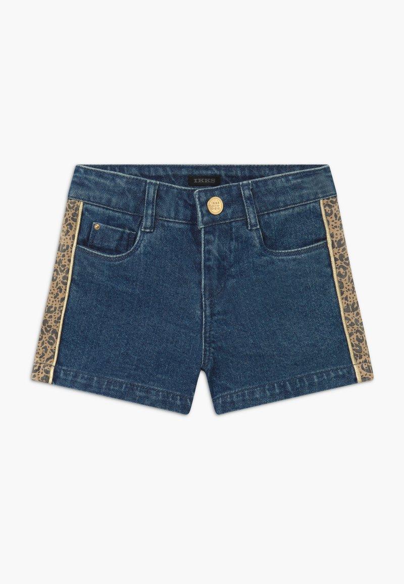 IKKS - BERMUDA - Short en jean - stone blue