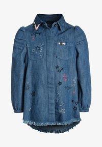 IKKS - ROBE - Robe en jean - medium blue - 0