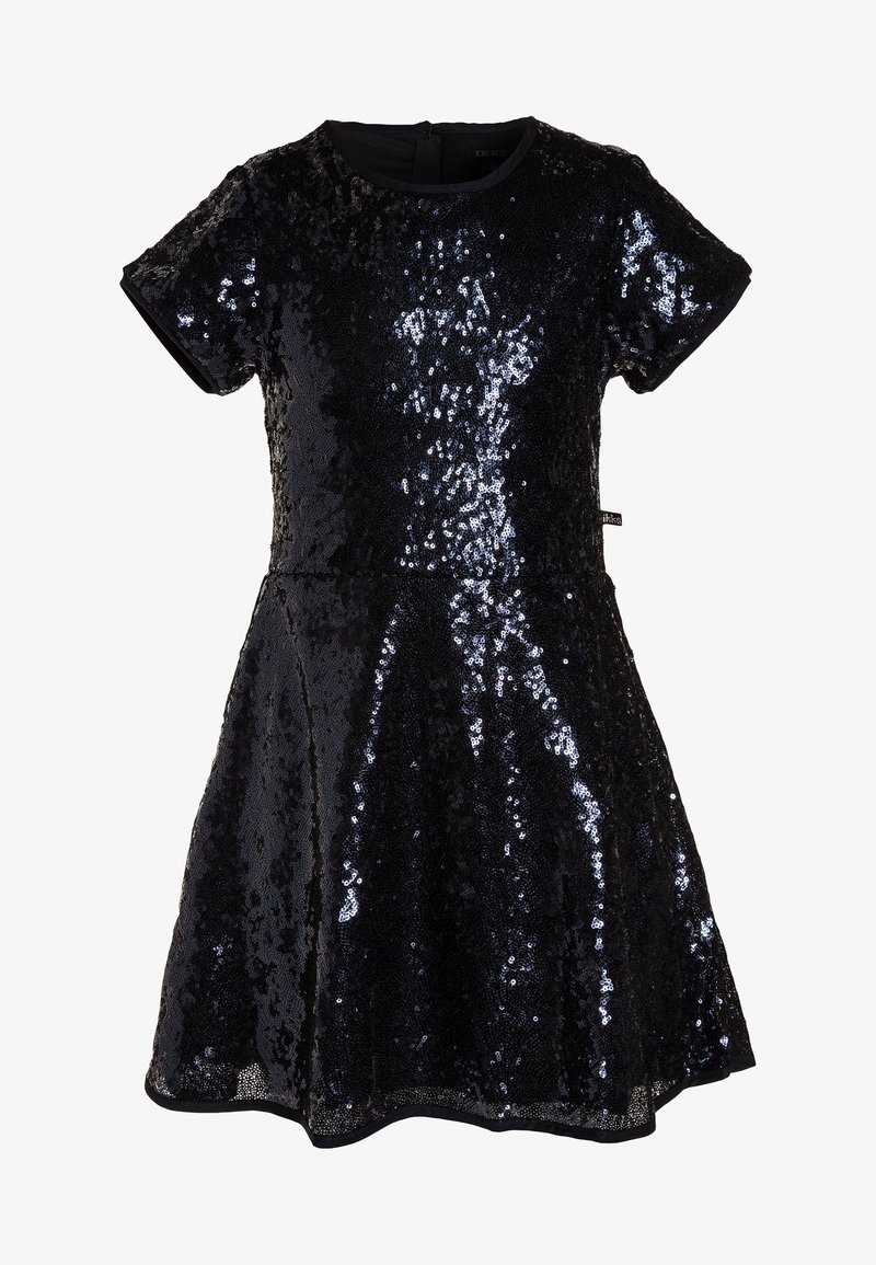 IKKS - ROBE SEQUINS - Cocktail dress / Party dress - navy