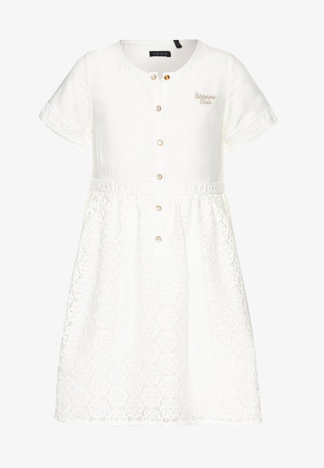 Shirt dress - blanc cassé
