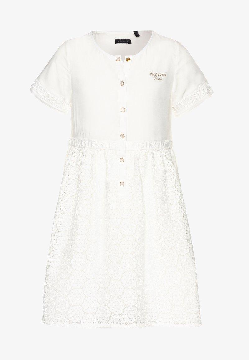 IKKS - Shirt dress - blanc cassé