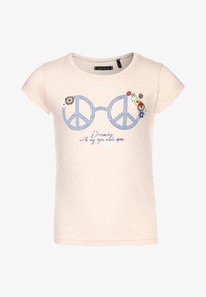 TEE - Print T-shirt - rose poudré