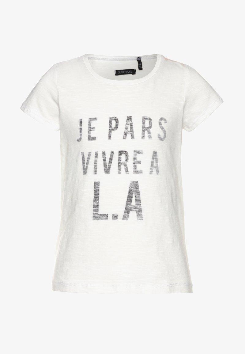 IKKS - TEE - T-shirt imprimé - blanc cassé