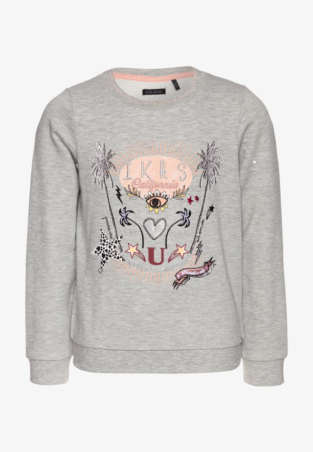 Sweatshirt - gris chiné moyen