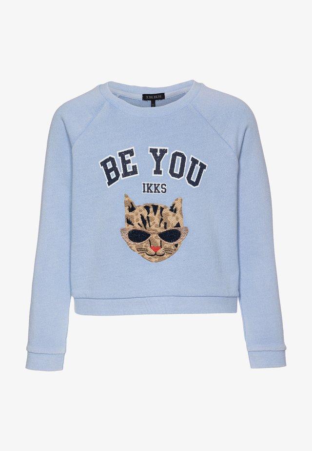 Sweatshirt - bleu ciel