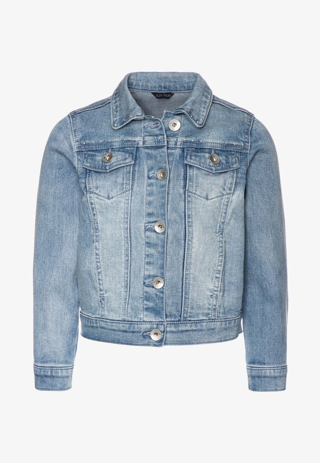 Denim jacket - blue bleach