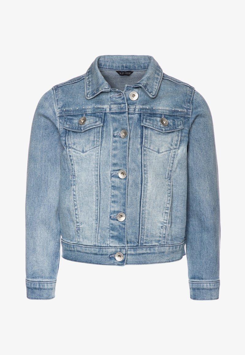 IKKS - Veste en jean - blue bleach