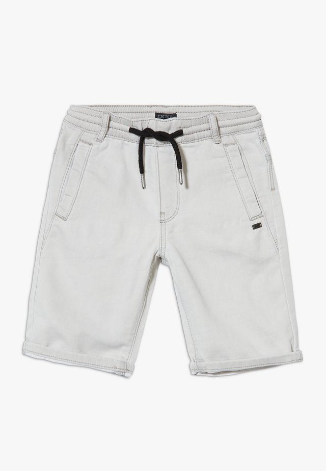 BERMUDA - Denim shorts - grey bleach