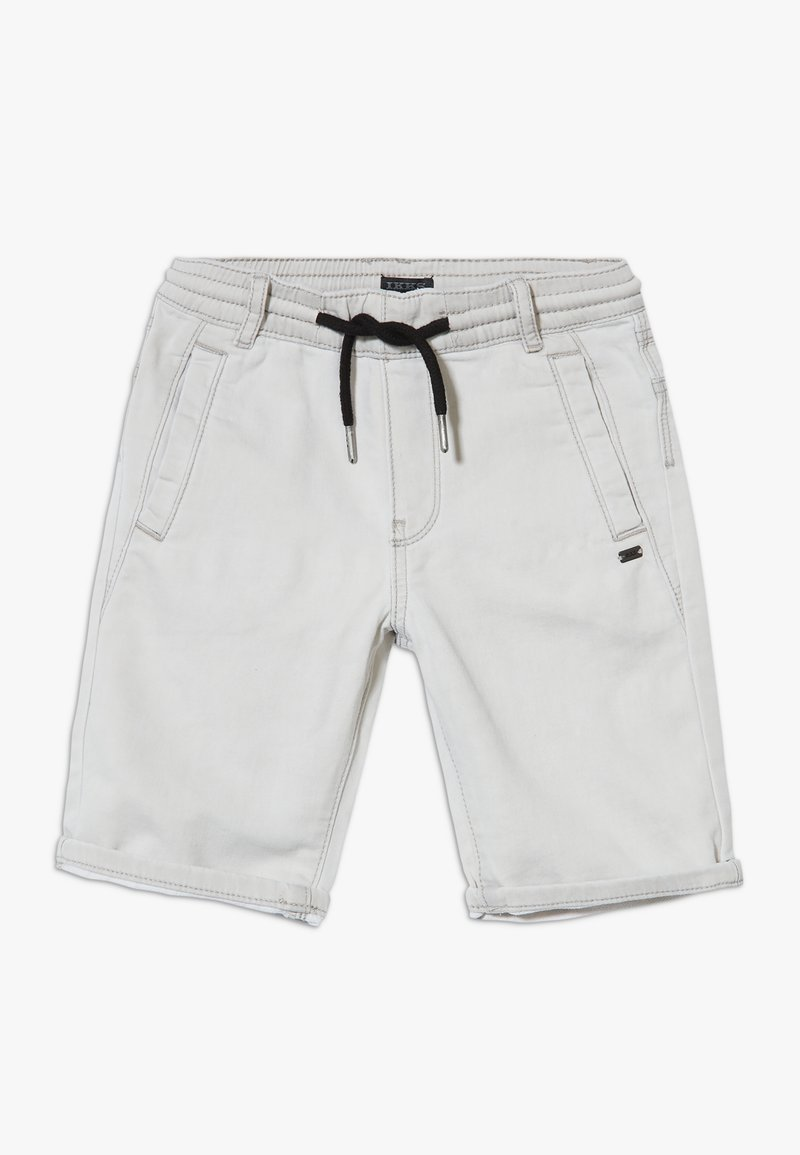 IKKS - BERMUDA - Short en jean - grey bleach