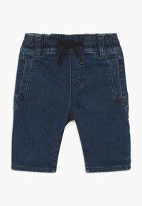 IKKS - BERMUDA - Denim shorts - medium blue - 0