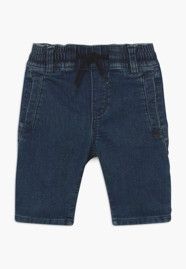 BERMUDA - Denim shorts - medium blue