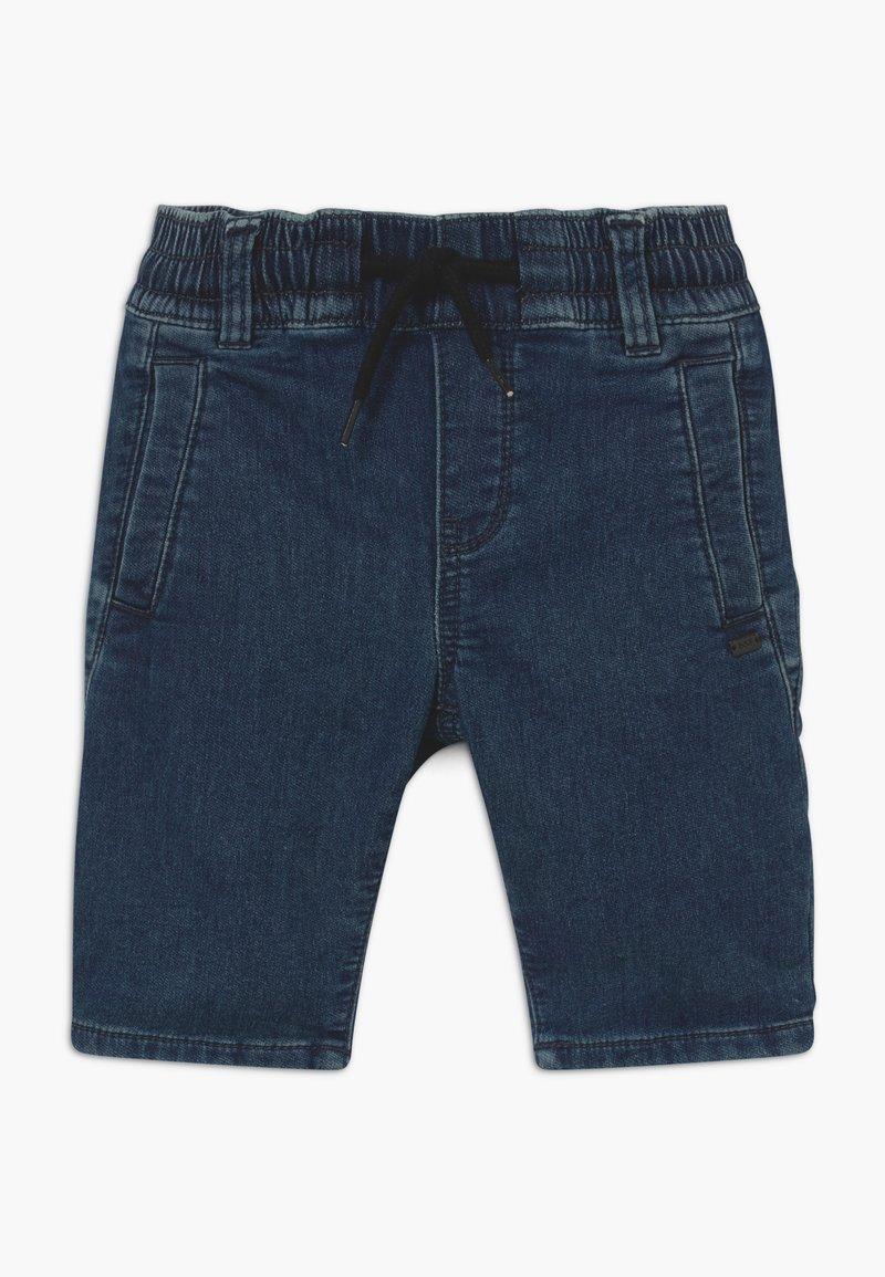 IKKS - BERMUDA - Denim shorts - medium blue