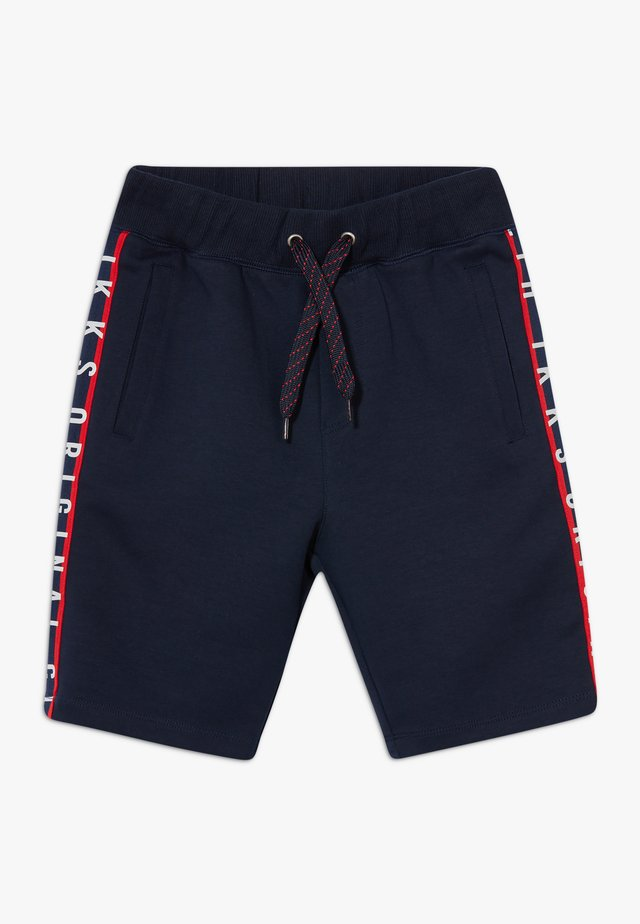 BERMUDA - Tracksuit bottoms - navy