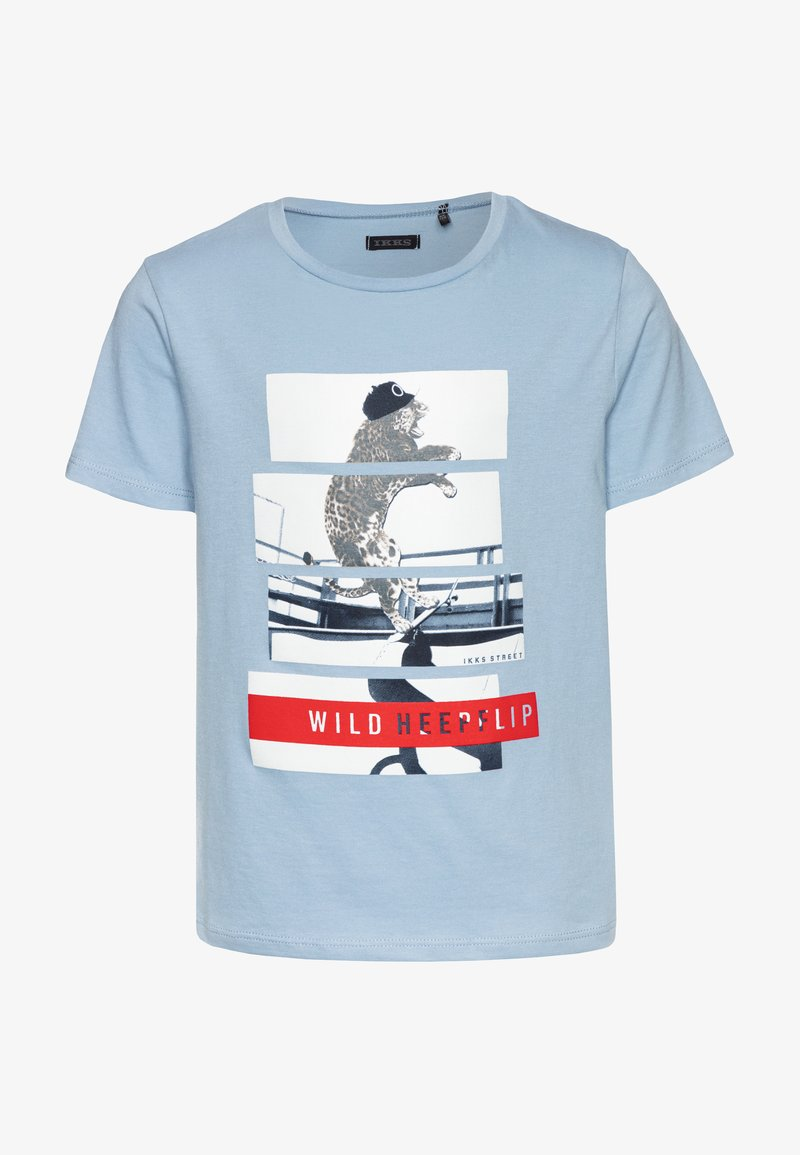 IKKS - Print T-shirt - bleu ciel