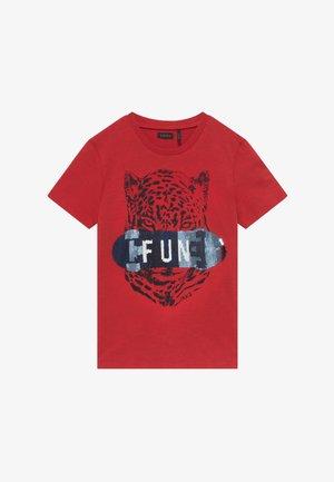 TEE - Print T-shirt - rouge moyen