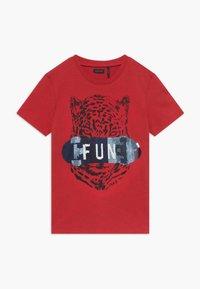 IKKS - TEE - Print T-shirt - rouge moyen - 0