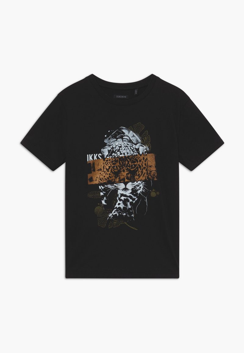 IKKS - T-shirt imprimé - noir