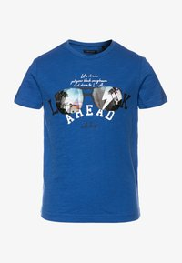 IKKS - TEE - Print T-shirt - bleu foncé - 0