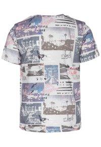 IKKS - T-shirt imprimé - gris chiné - 1
