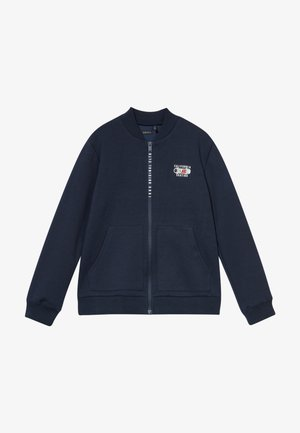 CARDIGAN - Zip-up hoodie - navy