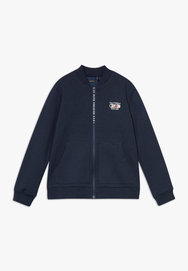 IKKS - CARDIGAN - veste en sweat zippée - navy