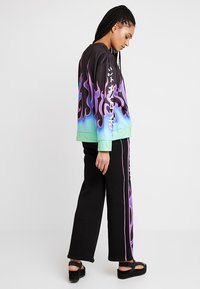 Jaded London - EXCLUSIVEPANELLED WIDE LEG - Træningsbukser - purple - 2
