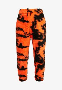 Jaded London - TIE DYE TROUSERS - Pantaloni sportivi - orange/black - 3