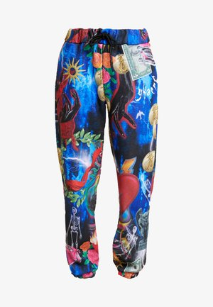 CUFF HEM JOGGER - Pantaloni sportivi - multi-coloured