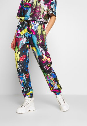 CUFFED JOGGER - Pantaloni sportivi - multi-coloured