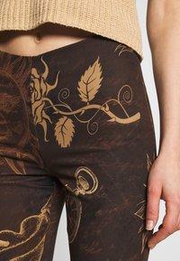 Jaded London - KICK TROUSER - Trousers - brown - 4