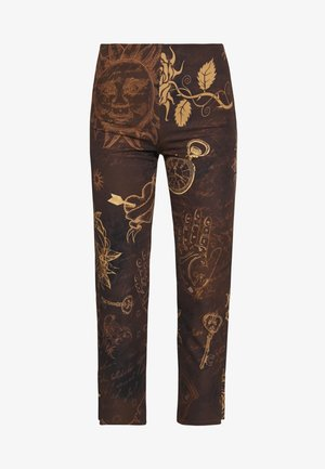 KICK TROUSER - Stoffhose - brown