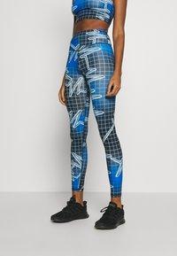 Jaded London - SPORT HIGH WAIST PRINTED - Leggings - Trousers - multicolor - 0