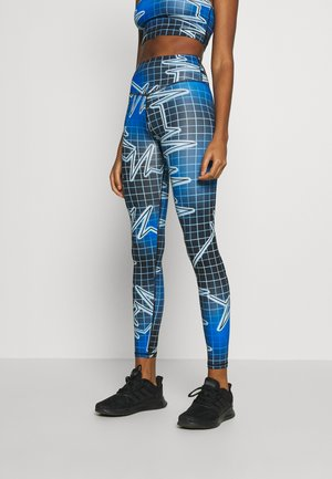 SPORT HIGH WAIST PRINTED - Leggings - Trousers - multicolor