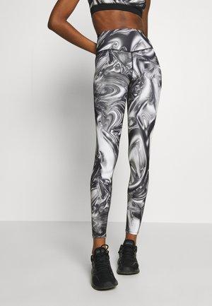 SPORT HIGH WAIST - Leggings - Trousers - chrome
