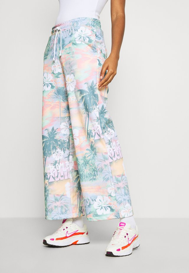 WIDE LEG JOGGER - Jogginghose - multi-coloured