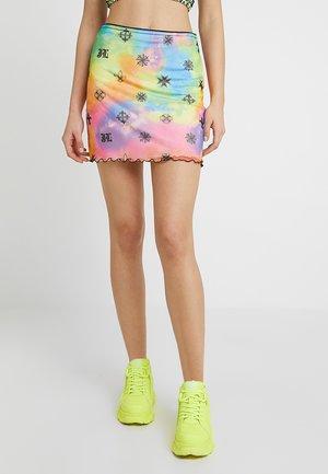 MONOGRAM SKIRT - Mini skirt - multi