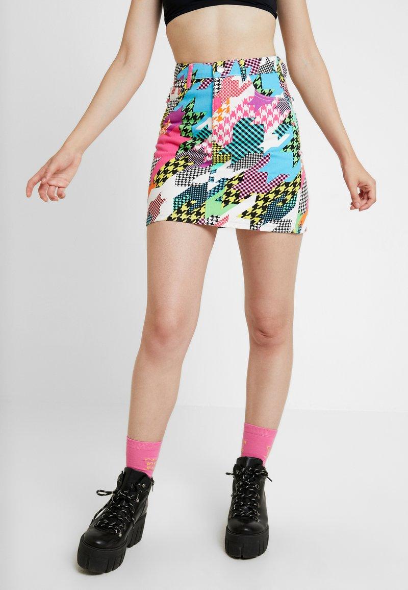Jaded London - PRINTED SKIRT - Spódnica trapezowa - multi coloured
