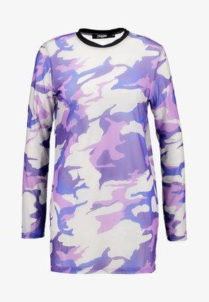 EXCLUSIVE - Top sdlouhým rukávem - lilac