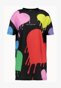 Jaded London - PRIDE COLLECTION HEART DRESS - Jersey dress - multi - 3